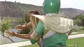 Mighty Morphin Power Rangers Fight Scene Episode 59