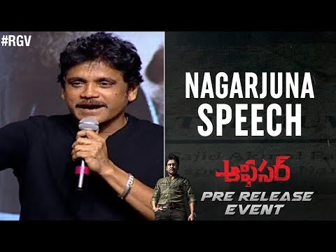 Nagarjuna Speech | Officer Pre Release Event | RGV | Myra Sareen | Ram Gopal Varma | #Officer