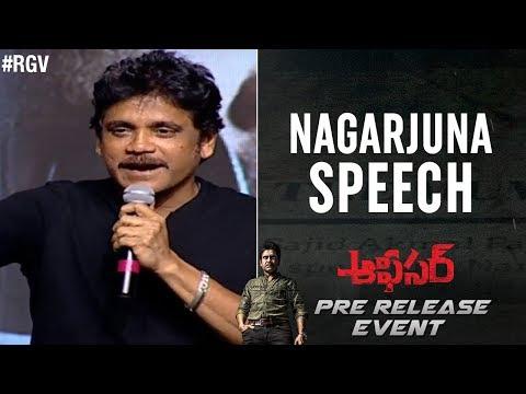 Nagarjuna Speech | Officer Pre Release Event | RGV | Myra Sareen | Ram Gopal Varma | #Officer