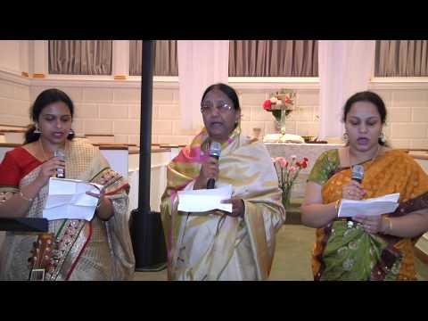 Telugu Christian Songs - 'స్తోత్రార్పణ నర్పింతుమో Sthothraarpana' Mrs. Shanthi Bhaskar video