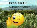 CREE EN TI!  AUTOCONFIANZA. Audio documental.