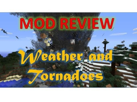 Minecraft Mod Review - Tornado Mod 1.5.1