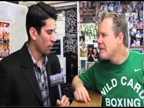 Freddie Roach If you think you cant get KOd your in the wrong sport talks Bradley