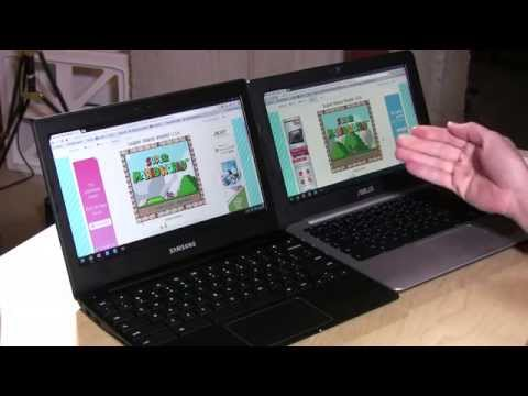 Asus Chromebook c200 Review - Compared Head-to Head With a Samsung Chromebook 2