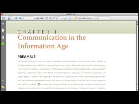 XanEdu Web Reader - Exporting and Downloading Enhanced PDFs