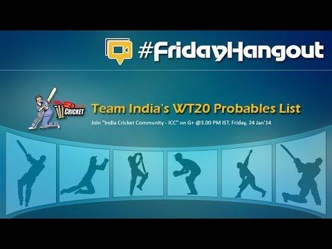 #FridayHangout   Ind vs NZ   India lose the top ODI spot   Special Guest: Christina Pierce