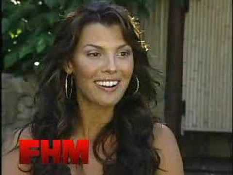 Ali Landry short interview(FHM) Video