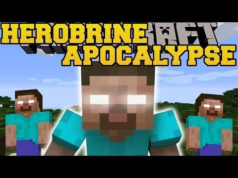 Minecraft: HEROBRINE TAKES OVER MINECRAFT (HEROBRINE IS EVERYWHERE!) Mod Showcase