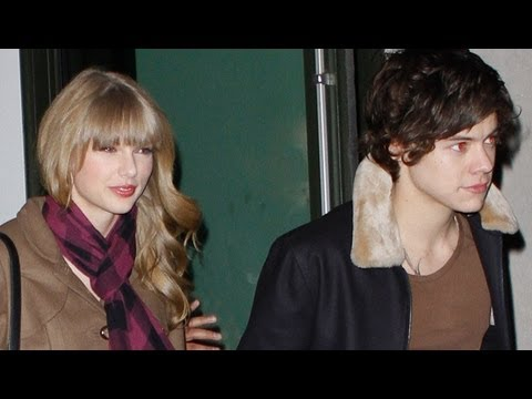 Taylor Swift & Harry Styles Night Out with Dianna Agron