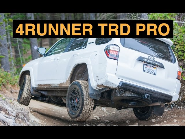 2015 Toyota 4Runner TRD Pro - Off Road And Track Review ...