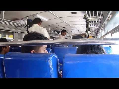 Inside A Sri Lankan Bus video
