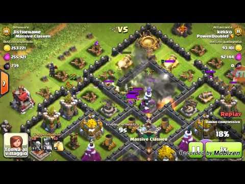 Clash of Clans [ITA] - ATTACCO CON 220 GOBLIN
