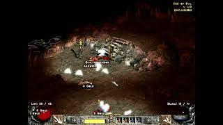Diablo 2 Hardcore Hell Run 6 ( Sorceress ), Part 1 ( Normal )