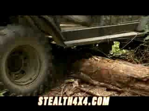 Stealth 4x4 Electric Utility Vehicle Short Version