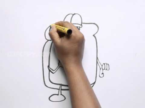 Bread Slice Drawing How to Draw a Cartoon Slice of