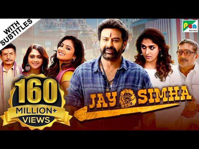 Jay Simha (2019) New Released Action Hindi Dubbed Movie | Nandamuri Balakrishna, Nayanthara thumbnail