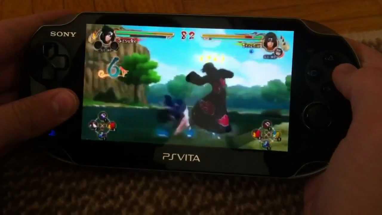 ps Vita Sony Games Sony Ps-vita Naruto Ultimate