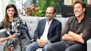 Penelope Cruz & Javier Bardem talk Asghar Farhadi