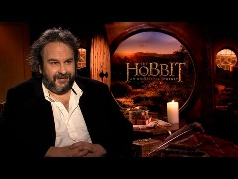 Peter Jackson - The Hobbit: An Unexpected Journey Interview With Tribute