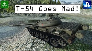 T-54 Goes Mad! - World of Tanks Console ( Xbox / PS4 )