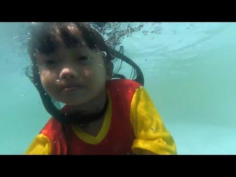Belajar Berenang Di Kolam Renang Anak Ada Waterboom - Children's Pool Waterboom