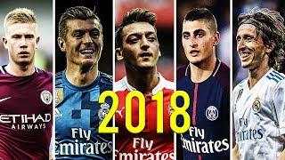 World Best Midfielders Mix 2018 ● De Bruyne ● Kross ● Özil ● Verratti ● Modrić   (HD)