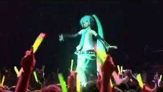 Hatsune Miku - Cantora Virtual 3D  - World is Mine Live