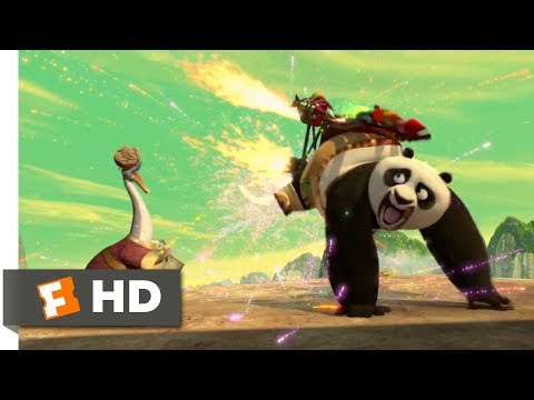 Kung Fu Panda (2008) - The Dragon Warrior Trials Scene (2/10)   Movieclips