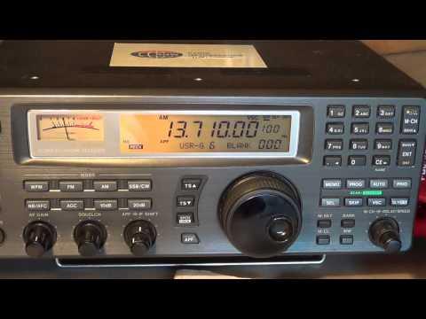 China Radio International from Kashi relay in China 13710 Khz
