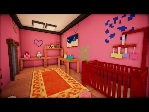 Детская комната и спальня - Серия 7, ч. 3 - Minecraft - Строительный креатив