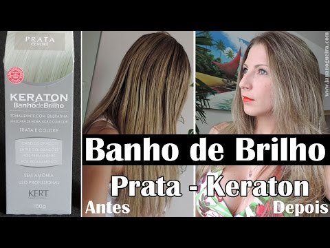Banho de Brilho Prata- Keraton (Passo-a-Passo)