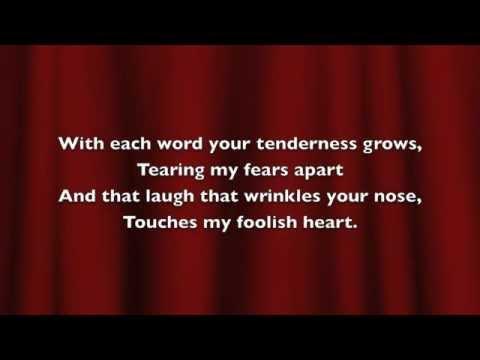 The Way You Look Tonight - Buble - lyrics