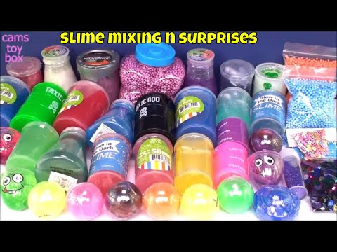 MIXING ALL OUR GIANT SLIMES IN A POOL - GIANT SLIME SMOOTHIE