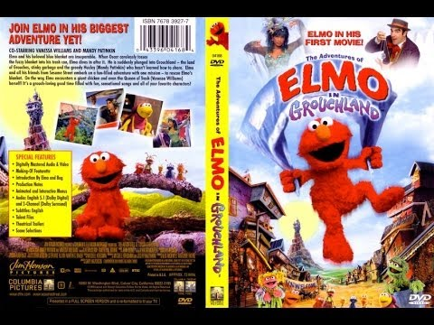 Opening to The Adventures of Elmo in Grouchland DVD - YouTube