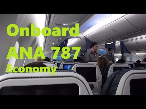 ANA | Boeing 787 in Economy Vancouver to Tokyo Haneda YVR-HND
