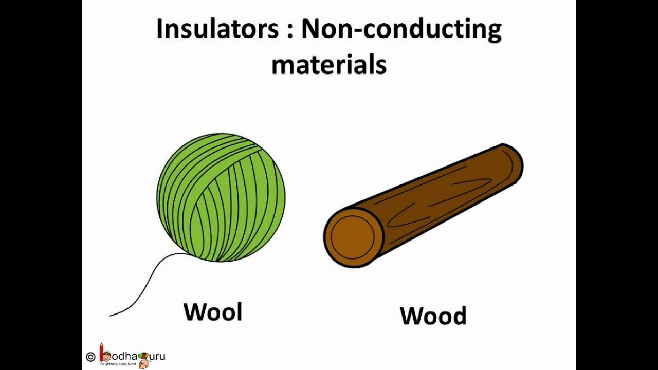 Examples Of Conductors And Insulators : Science electricity conductors and insulators