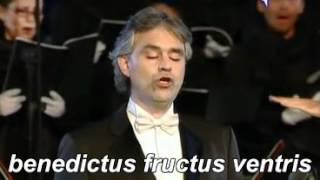 Andrea Bocelli Ave Maria Schubert Traduzione
