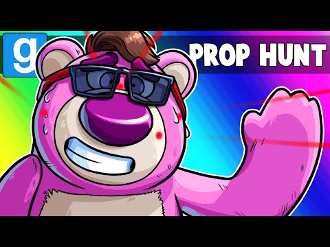 Gmod Prop Hunt Funny Moments - Toy Story 4 Edition! (Garry's Mod)