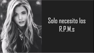 sasha pieterse  rpm letra en español