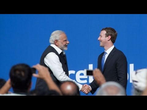 Mark Zuckerberg Received Hand Sanitizer After Meeting PM Modi