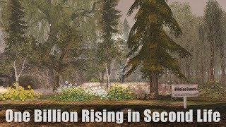 Exploring Second Life - One Billion Rising in Second Life