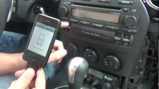 GTA Car Kits - Mazda MX-5 Miata 2006-2008 iPod, iPhone, iPad, mp3 and AUX adapter installation