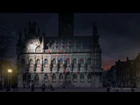 NuFormer 3D Video Mapping Projections on buildings