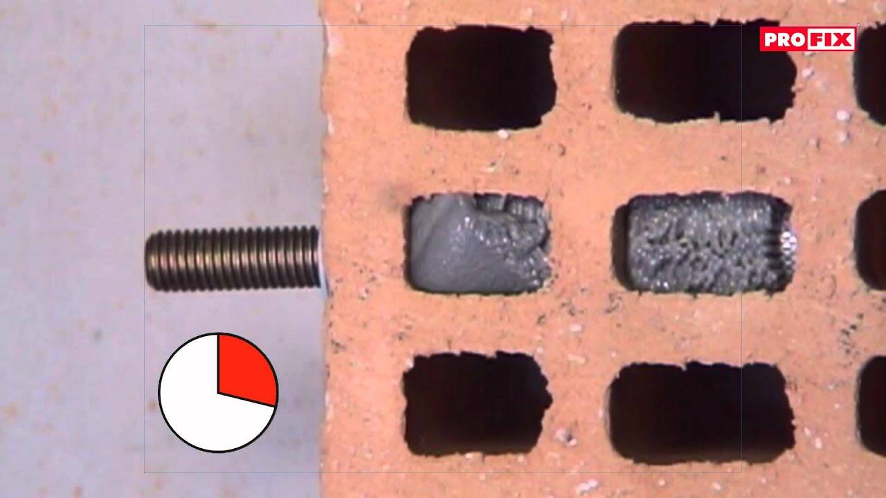 45s pit dans murs creux f youtube - Temps de sechage cheville chimique ...