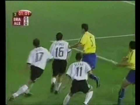 Final da Copa do Mundo de 2002 - Brasil x Alemanha