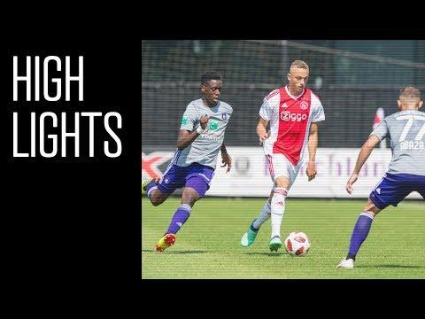Highlights Ajax - Anderlecht (De Toekomst)
