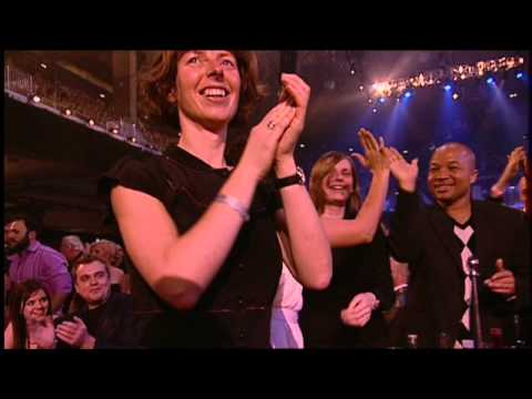Nelly Furtado wins International Female presented by Ricky Wilson | BRIT Awards 2007