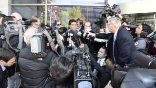 Millard's lawyer speaks to media