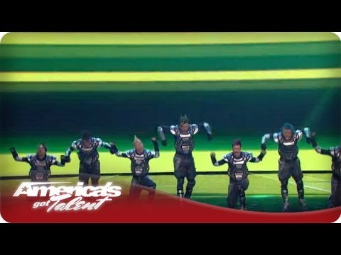 Puerto Rico Urban Dance Crew Takes The AGT Stage -  AGT Season 7 787 Crew Quarterfinals