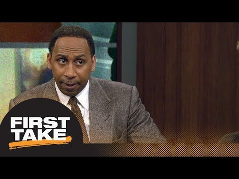 Stephen A. Smith would trade Lonzo Ball for Kawhi Leonard | First Take | ESPN